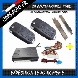 KIT CENTRALISATION FORD BRANCO