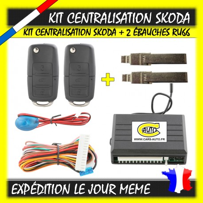 Kit Centralisation Skoda Octavia