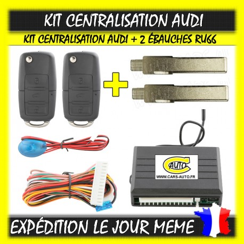 Kit Centralisation Audi RU66