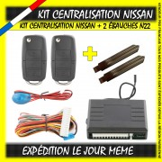 Kit Centralisation Nissan X-TRAIL N22