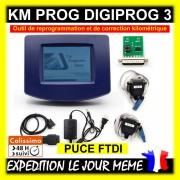 PROMO-VALISE DIGIPROG 3 V4.94 - REPROGRAMMATION OBD2 - SCANNER DIAGNOSTIQUE