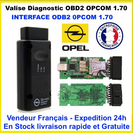 OP COM / OPCOM V1.78 DIAGNOSTIQUE OPEL INTERFACE SCAN OBD