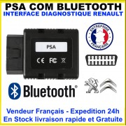 Interface diagnostique PSA-COM Bluetooth Mieux Que Lexia pp2000