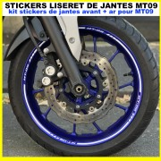 Stickers Liserets de jantes MT09