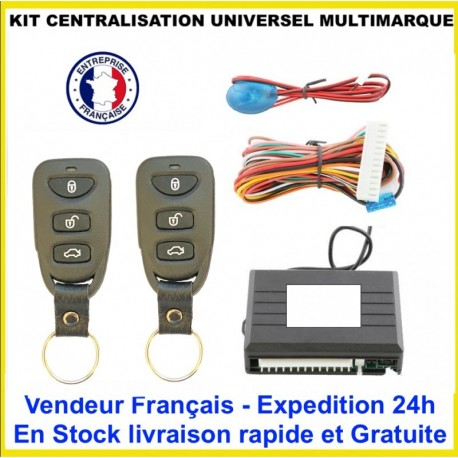 KIT CENTRALISATION UNIVERSEL MAZDA MX5