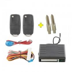 2 Sièges Baquets Sport Simili Cuir Bleu/Noir