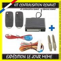 KIT CENTRALISATION RENAULT TRAFIC 2