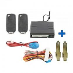 Clé vierge complète avec électronique SMART 451 Mercedes Benz 100/% Testé Id46 .