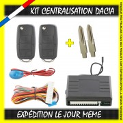 KIT CENTRALISATION DACIA DUSTER