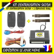 Kit Centralisation Skoda Rapid